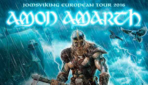 amon amarth jomsviking european tour 2016 forest national. Black Bedroom Furniture Sets. Home Design Ideas
