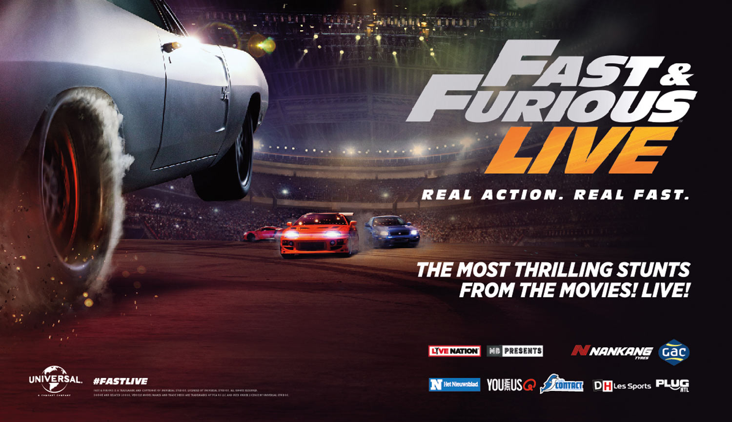 Fast Furious Live Antwerps Sportpaleis